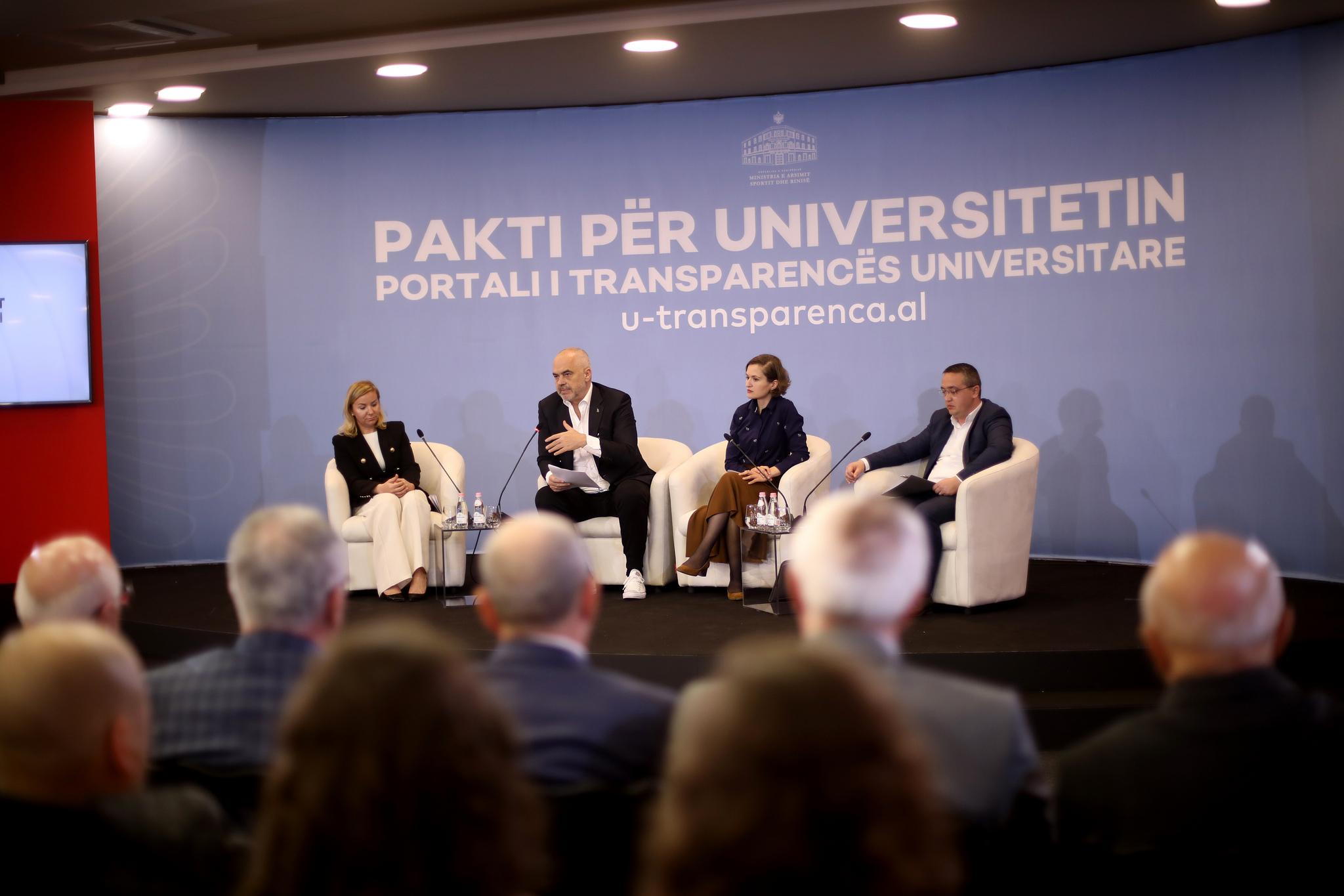 Publikohet u-transparenca.al, portali i transparencës universitare