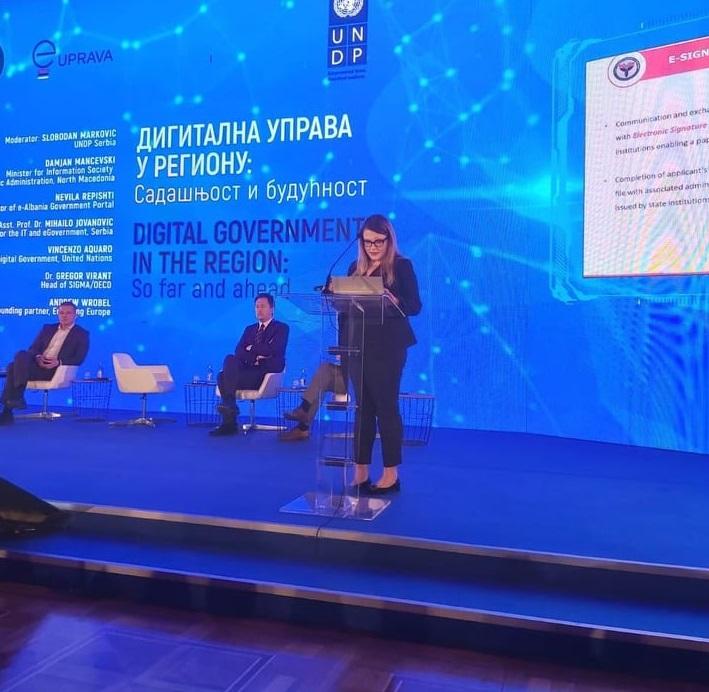Bashkëpunim rajonal digjital, AKSHI pjesëmarrës në konferencën e Beogradit