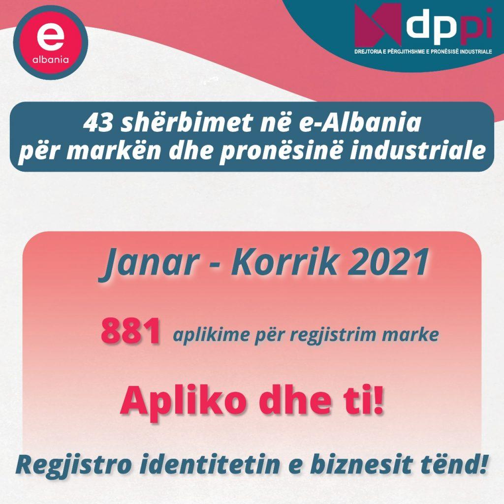 Si të regjistrosh markën tënde në e-Albania
